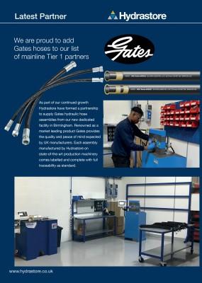 Latest Partner: Gates Hoses illustration 1