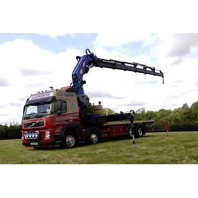 Lorry mounted Cranes illustration 1
