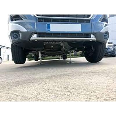 Vehicle self levelling system illustration 2